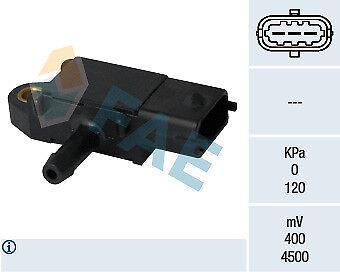 1x Sensor Abgasdruck FAE 16108 DIFFERENZDRUCK-GEBER