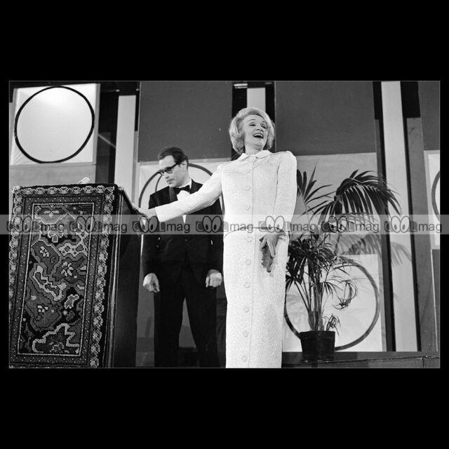 #phs.005537 Photo MARLENE DIETRICH 1963 Star
