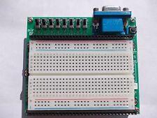 FPGA Xilinx Spartan6 xc6slx9 development board with breadboard and programmer