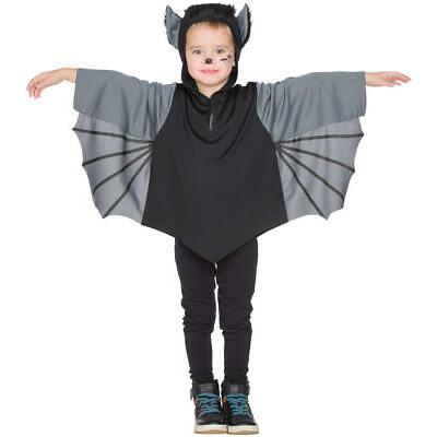 Fledermaus Kinder Halloween Karneval Fasching Kostüm 92-128