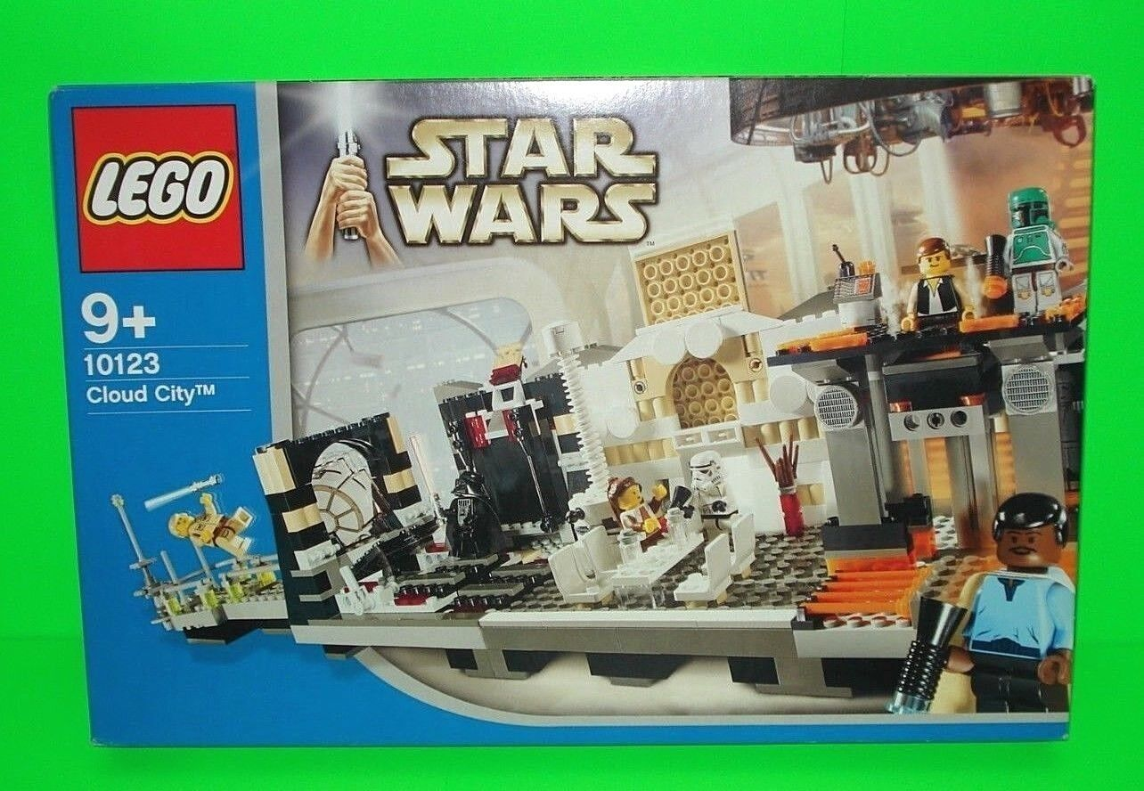 LEGO Star Wars Set Cloud City 10123   Lando Calrissian-OVP-Boba Fett   RAR