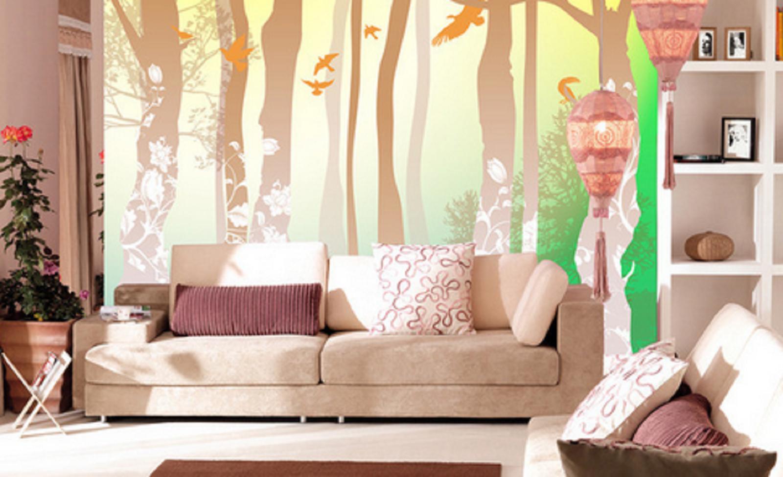 3D Forest Birds 84 Wall Paper Murals Wall Print Wall Wallpaper Mural AU Kyra