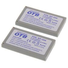 2 Akkus für Minolta NP-200 Dimage X Xi Xg Xt Z NEU