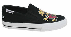 7a1f2acde95f Converse Skid Grip EV Sailor Jerry Slip On Canvas Mens Trainers ...
