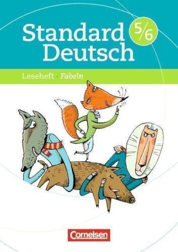 1 von 1 - Standard Deutsch 5./6. Schuljahr. Fabeln von Merve Klapper 2009 Cornelsen