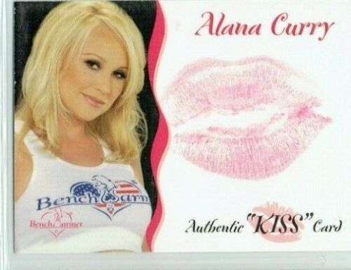 BENCHWARMER 2004 ALANA CURRY KISS CARD