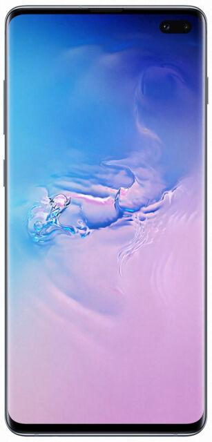 Samsung Galaxy S10+ 128GB - Prism White (Unlocked)