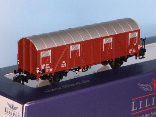 Liliput 260130-1 Güterw mit Bremserhaus Typ Glmhs 50 - Spur N - Ep.3 DB ged