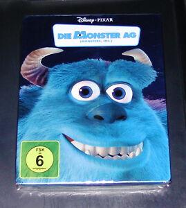 La Monster Ag Walt Disney Limitée steelbook Édition Double blu ray Neuf & Ovp
