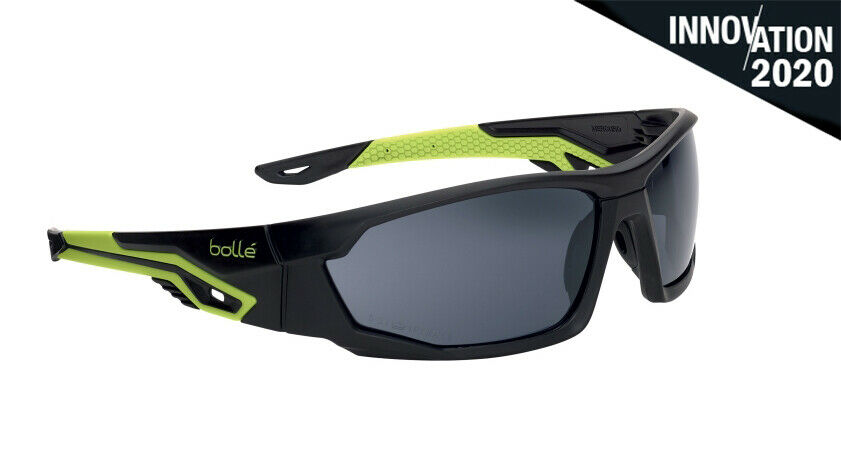 Bolle Contour Safety Spectacles ESP//Shaded Lens /& Storage Pouch
