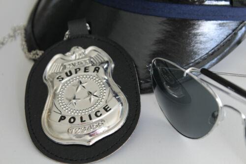 Kette Polizei Abzeichen SuperPolice Dienstmarke Special Officer Kette 124621613F