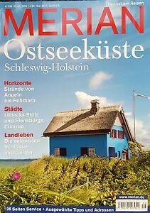 Merian-Ostseekueste-Schleswig-Holstein-Die-Lust-am-Reisen-ungelesen-1A-abs-TOP