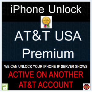 PREMIUM-FACTORY-UNLOCK-SERVICE-Active-on-Another-Account-AT-amp-T-IPHONE-11-XS-XR