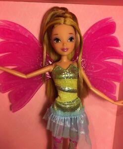 Winx Club Jakks Sirenix Flora Doll Ebay