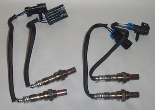 Ford Cars & Trk  Frt & Rr (4) O2 Oxygen Sensor Dir Fit (2) 25024749 (2) 35034414