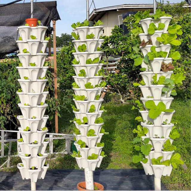 Sodial 12425a1 Stackable Wall Planter Flower Pot For Sale Online