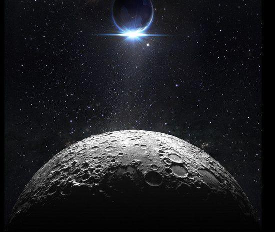 3D Schwarz, Planet 66777  Fototapeten Wandbild Fototapete BildTapete FamilieDE