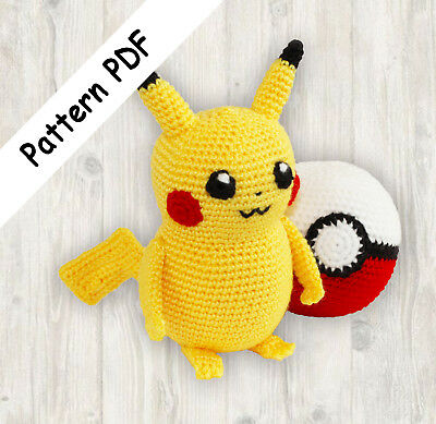 Amigurumi Kit Pokemon Amenurumi Pikachu Uchiha: Amazon.de: Küche ... | 389x400