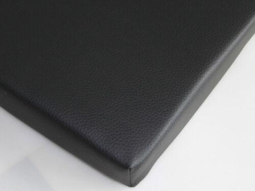 Stuhlkissen Sitzkissen Bankkissen Sitzpolster Stuhlpolster 40 x 40 cm in Schwarz
