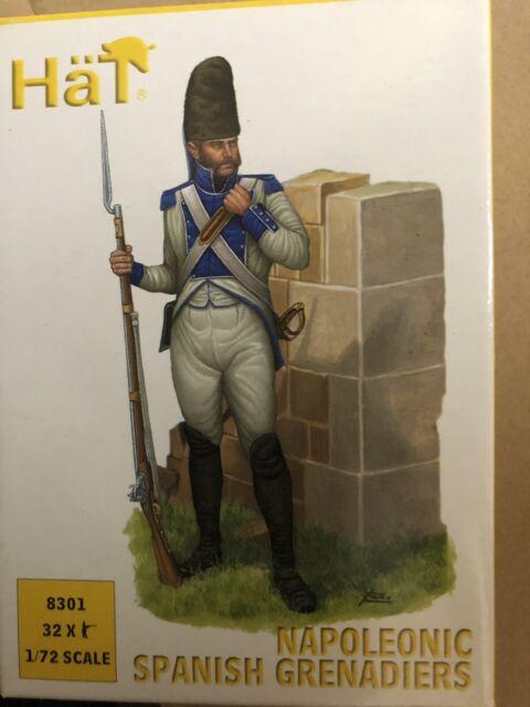 1/72 Napoleonic Spanish Grenadiers Infantry 8301