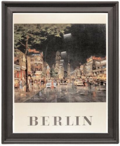 Germany Berlin Print Poster Poster Print Picture Frame 8x10 inches