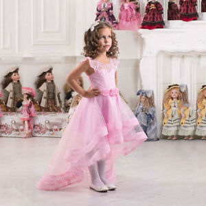 502f27b8b92 2019 Ball Gown Pink Flower Girl Dresses Girls Party Birthday Pageant ...