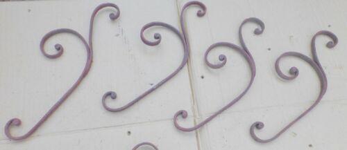 ORNAMENT Verzierung Eisen Zaun Geländer Treppe