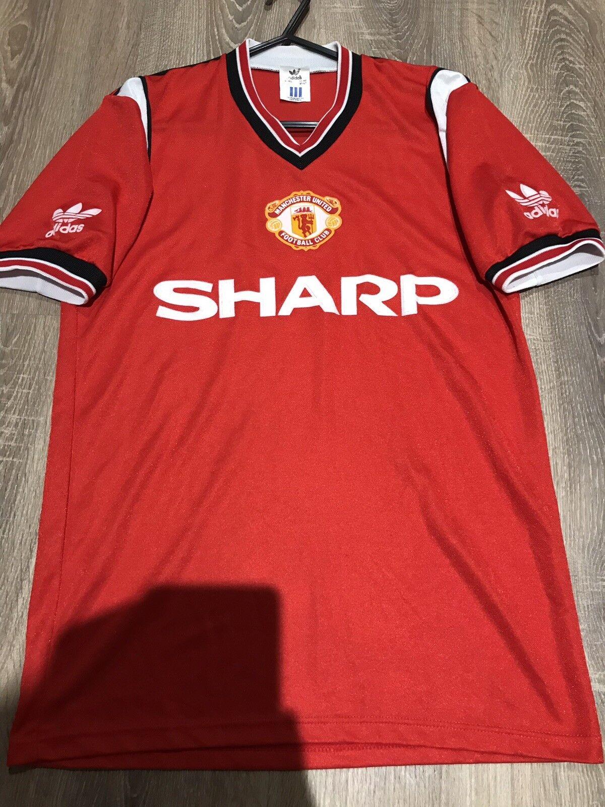 Manchester United Originale Vintage 198486 maglietta adulti S