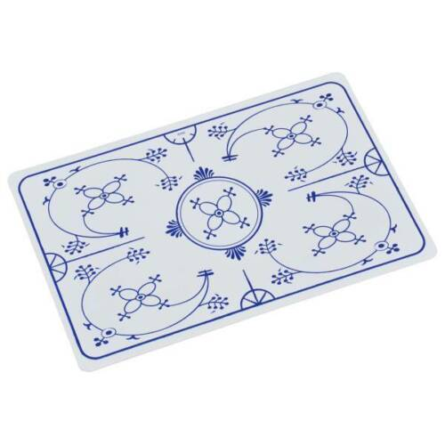 Tischset INDISCHBLAU Zwiebelmuster weiß blau 43x28cm Kesper Platzset
