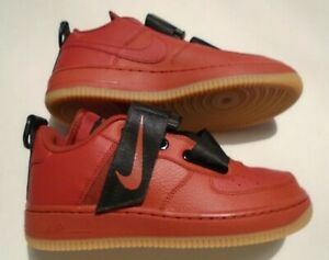 Details about New Nike AF1 Utility Magnetic Closures GS Big Kids Size 5.5 Shoes Red AJ6601 600