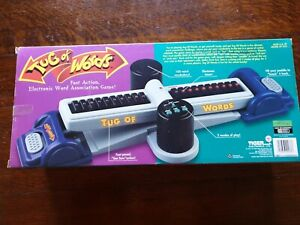 1998-TIGER-ELECTRONICS-LTD-TUG-OF-WORDS-ELECTRONIC-WORD-ASSOCIATION-GAME-NEW