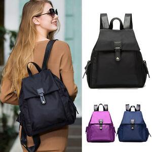 Women-039-s-Waterproof-Nylon-Backpack-Rucksack-Travel-Casual-Purse-Bag-Cute-Pack
