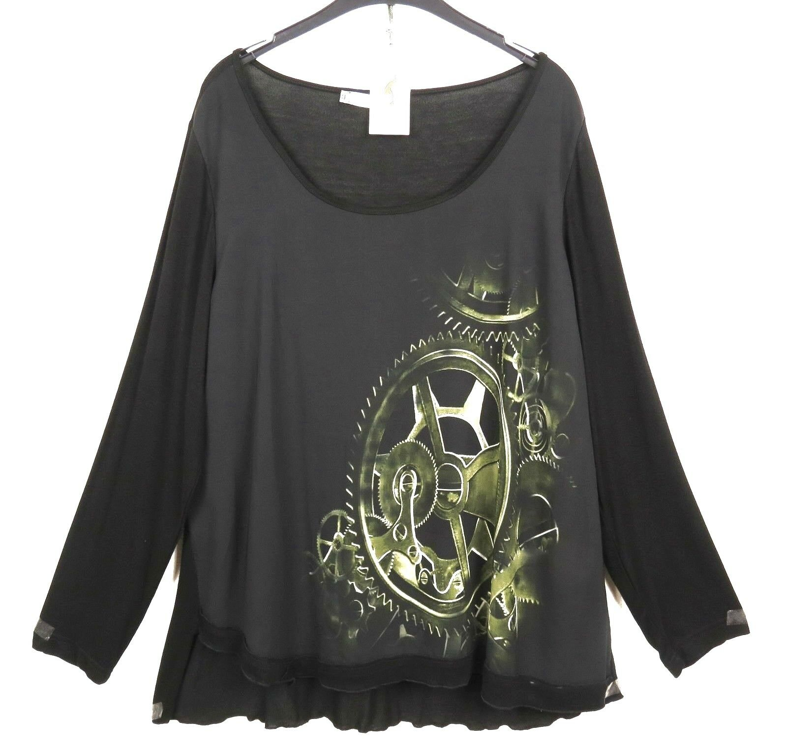 Nouveau La Mouette d'été tunique shirt tunic au XL à XXL 50 52 Look