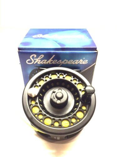 Backing and Leader fitted  Ready To Use Shakespeare Omni Fly Fishing Reel Line
