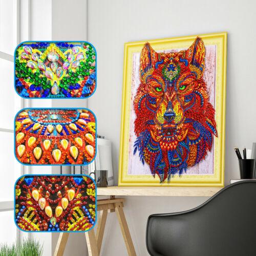 5D DIY Craft Diamond Rhinestone Pasted Hand Embroidery Kit Painting Cross Stitch