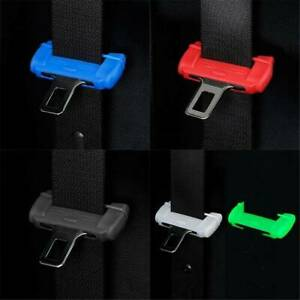 Red-Car-Seat-Belt-Buckle-Silicone-Covers-Clip-Anti-Scratch-Cover-Car-Accessories