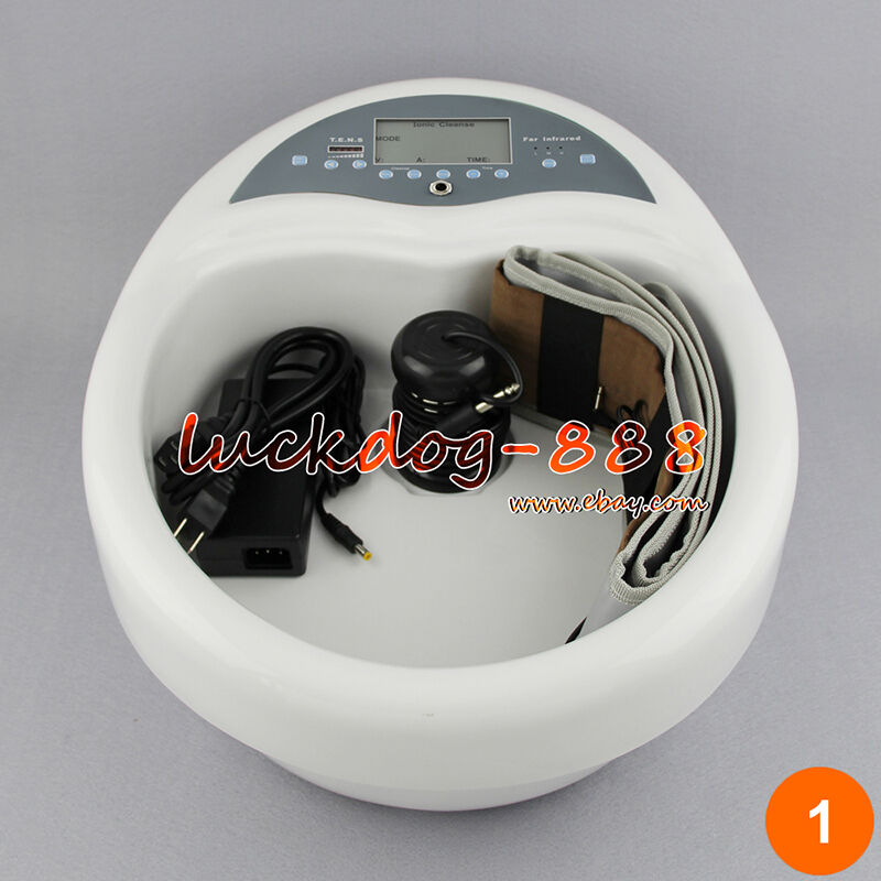 Dual Foot Detox Ion Foot Bath Spa Ionic Cell Cleanse