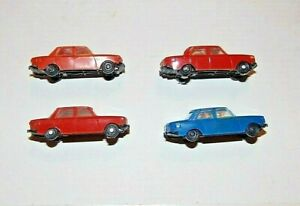 DDR-Spielzeug-Wartburg-4-st-HO-Plastik-Modell-Auto-PKW
