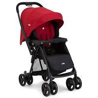 Joie Mirus Scenic Reversible Lightweight Stroller / Pushchair / Pram - Cherry