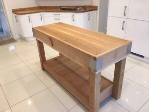 Oak-butchers-block-kitchen-island-rustic-reclaimed-made-from-solid-English-Oak