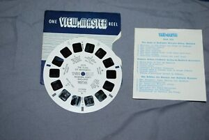 VIEW MASTER SINGLE REEL  REF 1079  THE DUKE OF BEDFORDS WOBURN ABBEY ENGLAND