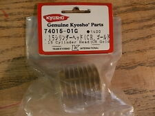 74015-01G .15 Cylinder Head (Gold) - Kyosho GX15 Nitro Engine Pure Ten Alpha
