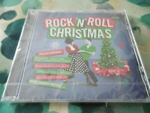 NEW-ROCK-039-N-039-ROLL-CHRISTMAS-CD-20-TRACKS-CHUCK-BERRY-DRIFTERS-ARMSTRONG-LEE