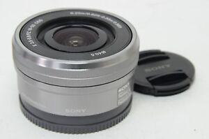 Silber-SELP1650-16-50-mm-F-3-5-5-6-E-PZ-OSS-Objektiv-fuer-sony-e-mount-kamera