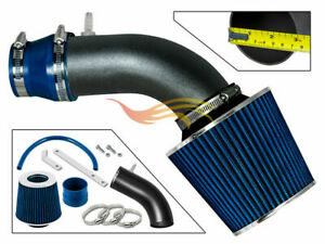 BCP-RW-BLUE-For-11-15-Accent-Veloster-Elantra-Rio-1-6L-NA-Air-Intake-Kit-Filter