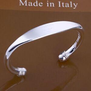 ASAMO-Damen-Armreif-925-Sterling-Silber-plattiert-Schmuck