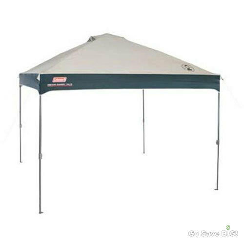 Coleman 10u0027 X 10u0027 Straight Leg Instant Shelter Tent 10 Canopy Party Outdoor | eBay  sc 1 st  eBay & Coleman 10u0027 X 10u0027 Straight Leg Instant Shelter Tent 10 Canopy ...