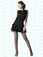 Scd7042bk (s-xxl, 5 Sz) Women Ballroom Latin Rhythm Salsa Swing Dance Dress