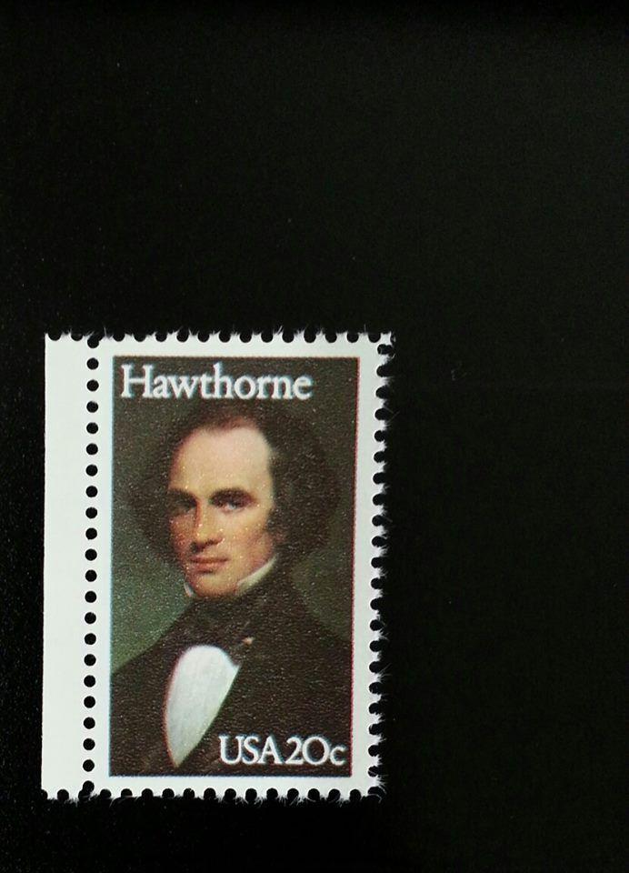 1983 20c Nathaniel Hawthorne, Novelist Scott 2047 Mint
