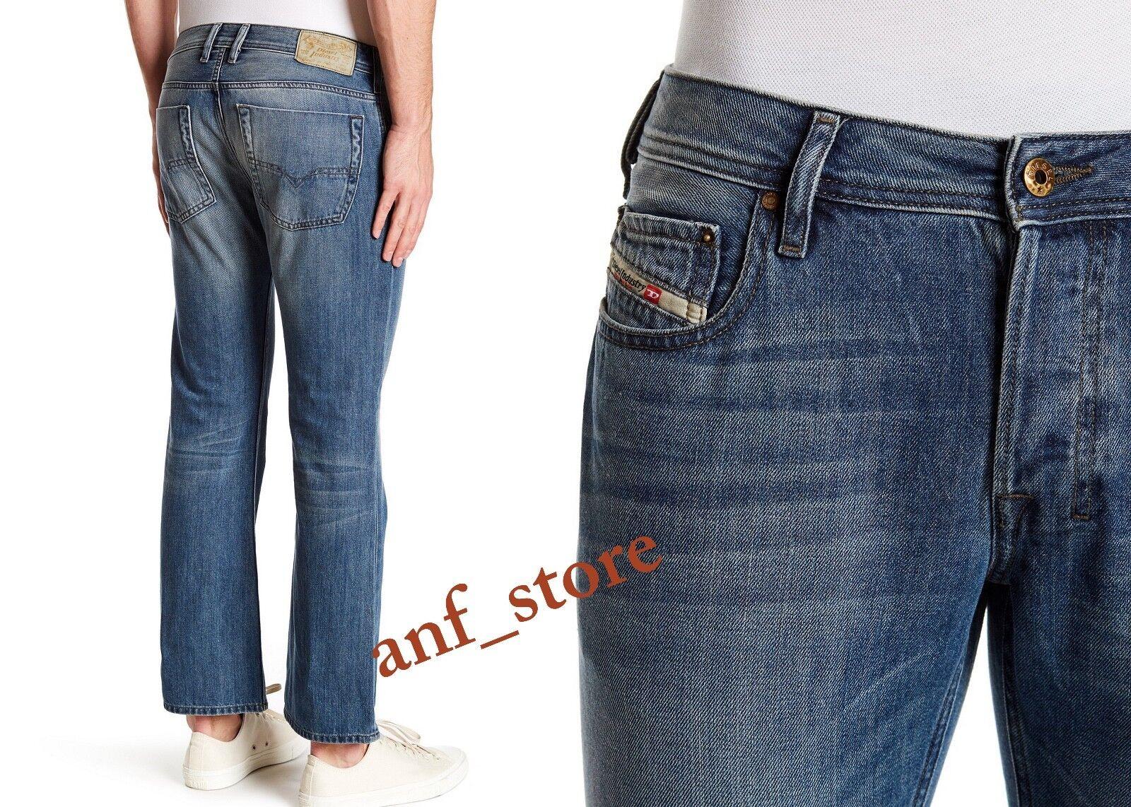 NWT Diesel ZATINY 0RZ38 FADED Bootcut Leg Men Jeans 34 x 30 Safado